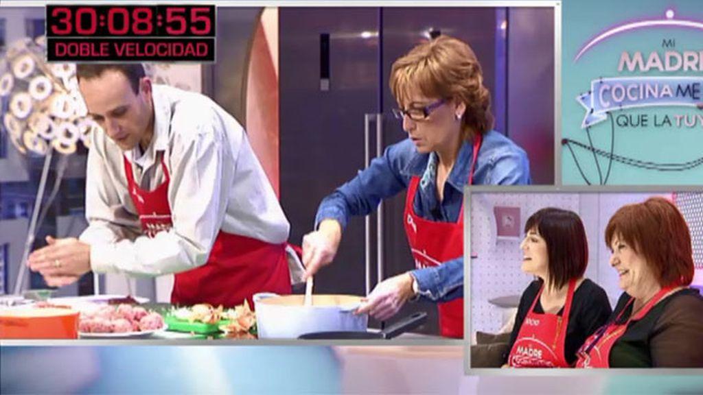 Así prepara Juan la receta de su madre: albóndigas rellenas de jamón