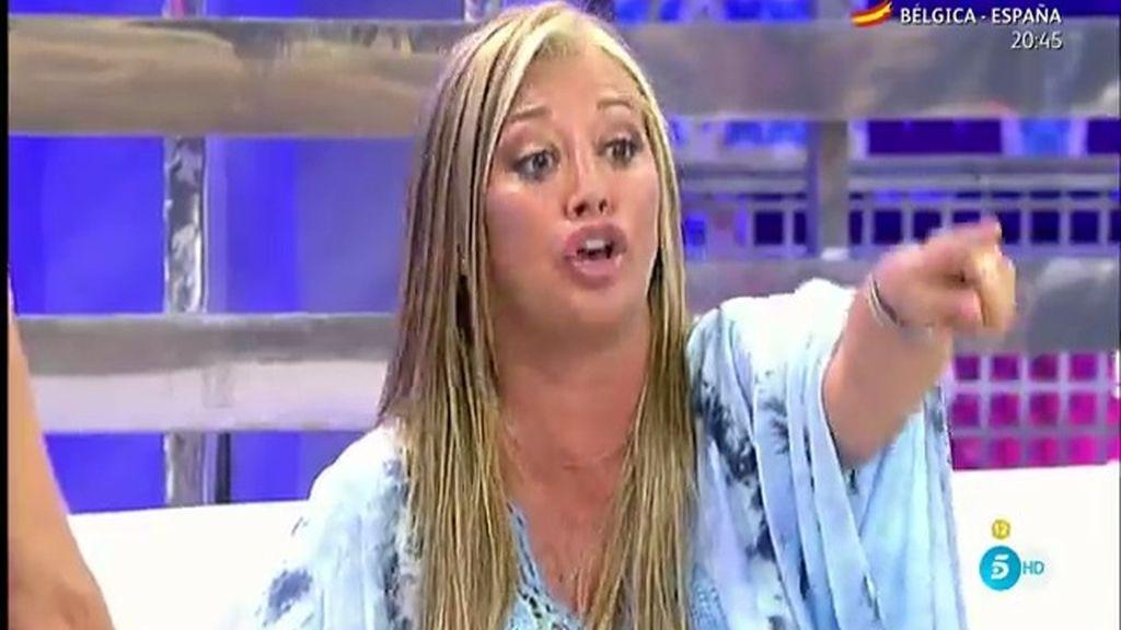 """Belén Esteban responde a Olvido Hormigos: """"¡Habla de lo tuyo!"""""""