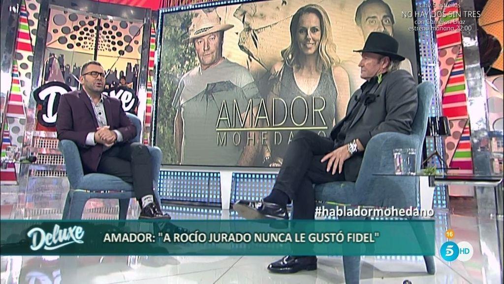"""Amador Mohedano: """"A Rocío Jurado no le gustaba Fidel, lo toleraba"""""""