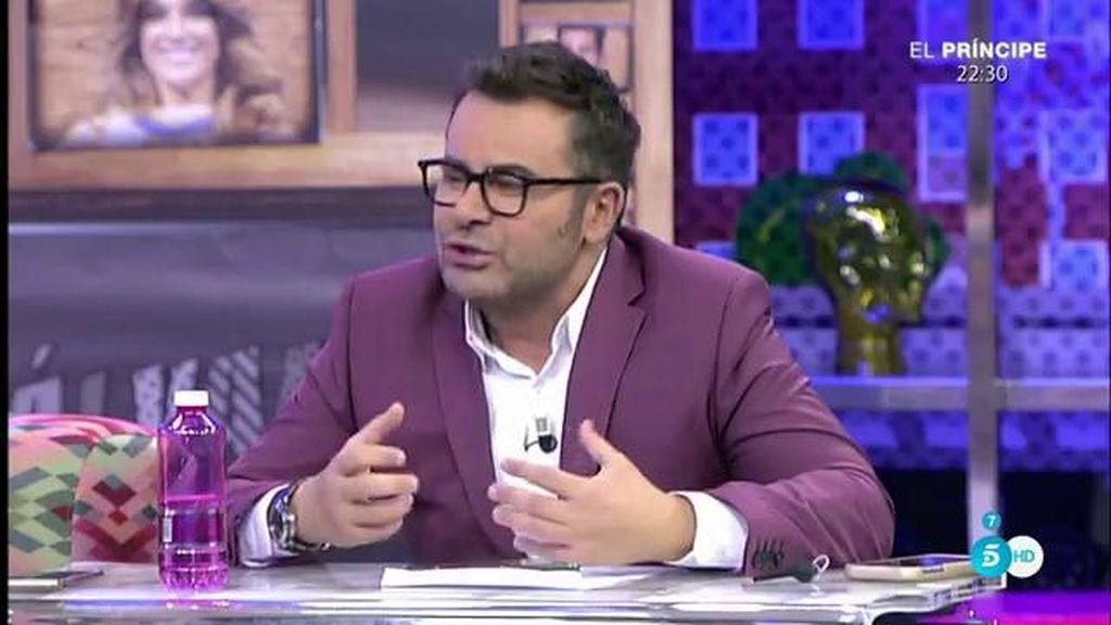 """Jorge Javier: """"Rosa Benito considera que ya no pertenece a este grupo de 'Sálvame"""""""