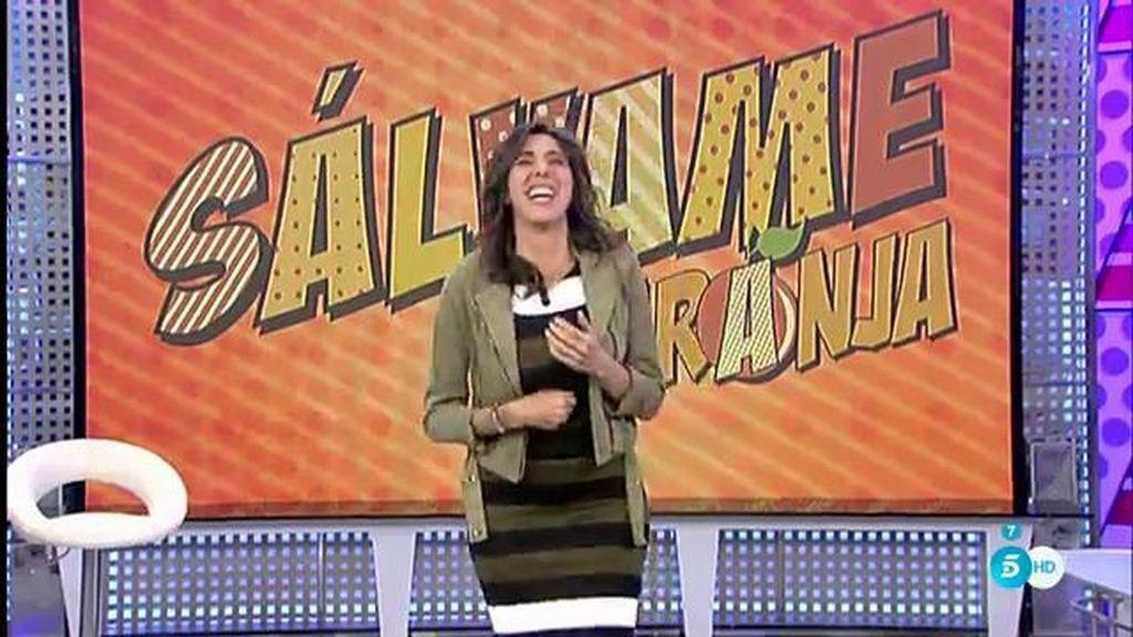 El ataque de risa de Paz Padilla en directo