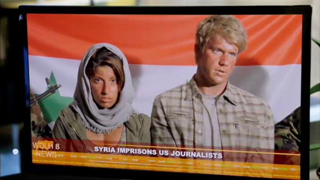 El ejército sirio hace rehenes a dos periodistas