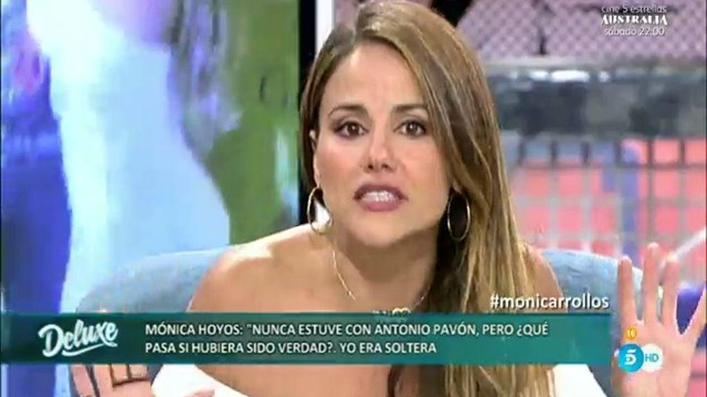 """Mónica Hoyos, a Antonio Pavón: """"Eres un sinvergüenza, es mentira lo que has contado"""""""