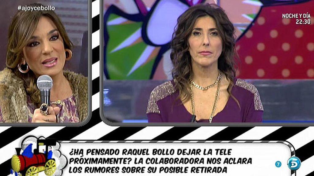 """Raquel Bollo: """"No quiero dejar 'Sálvame"""""""