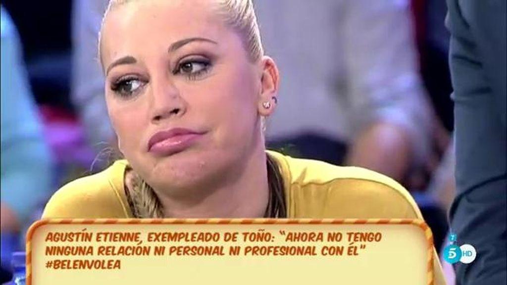 """Belén Esteban, de Toño Sanchís: """"A él nadie le dijo que guardara dinero"""""""