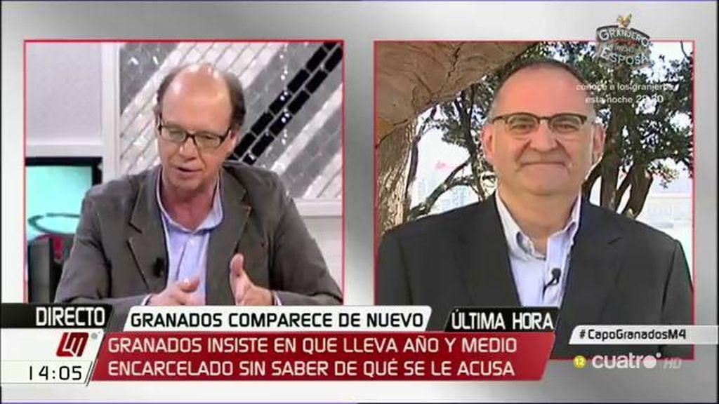 """Antón Losada, sobre el PP de Madrid: """"Aquello parecía una guerra de bandas"""""""