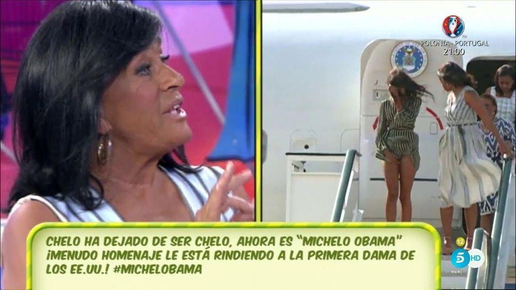 'MiChello' Obama, la primera dama estadounidense viene a 'Sálvame'