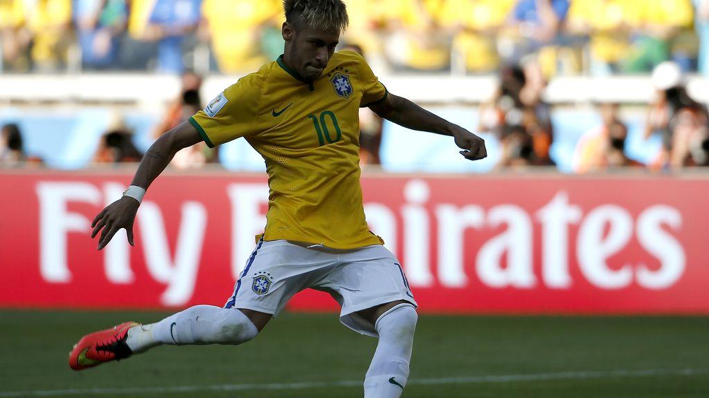 Neymar marca su penalti y el fallo de Jara con Chile mete a Brasil en cuartos de final