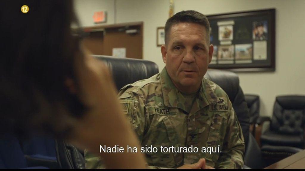 """Coronel David Heath: """"Nadie ha sido torturado en Guantánamo"""""""