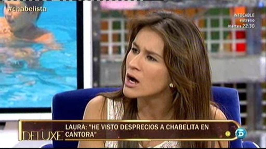 """Laura:""""Chabelita llevaba desde los 12 años diciendo que con 18 se iría de casa"""""""