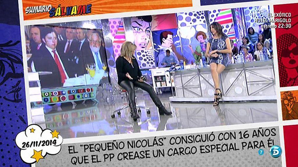 Terelu Campos, lesionada