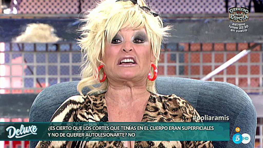 """Aramis, a María Patiño: """"No se te ocurra hablar de mi madre porque te retuerzo"""""""