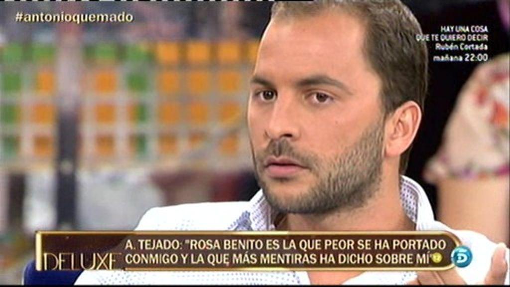 """Antonio Tejado: """"Amador lo único que se llevaba eran voces"""""""