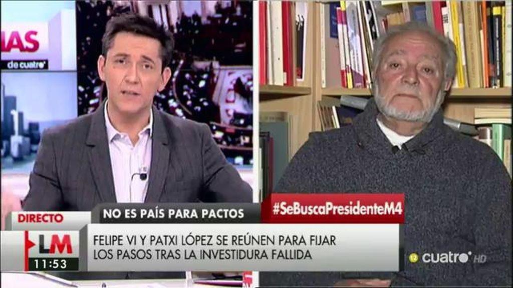 La entrevista completa con Julio Anguita