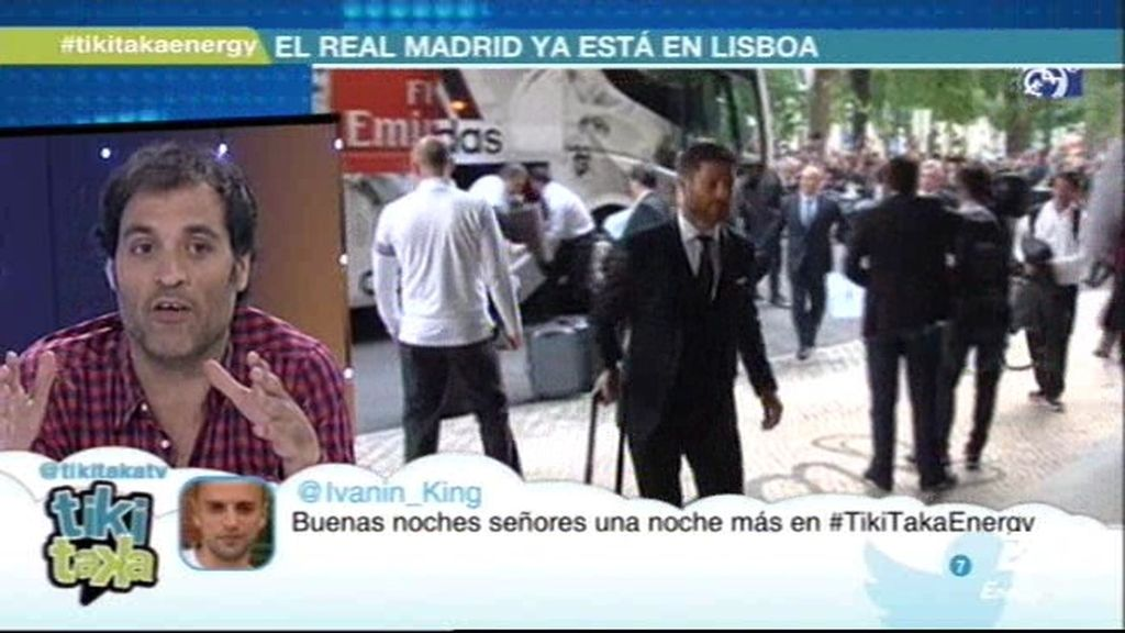 """David Sánchez: """"En la afición gana el Atlético de Madrid por goleada, no hay color"""""""