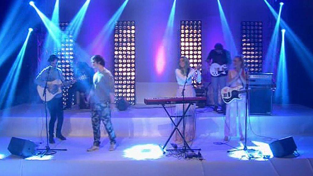 Sheppard canta en directo en 'GH15'