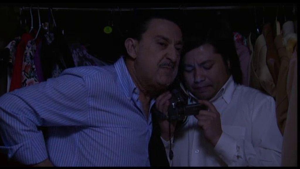 Mauricio y Machupichu quieren grabar un vídeo erótico a Chema y Soraya