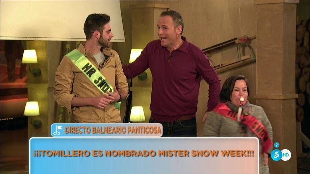Jesús y Chiqui, Míster y Miss Snow Week