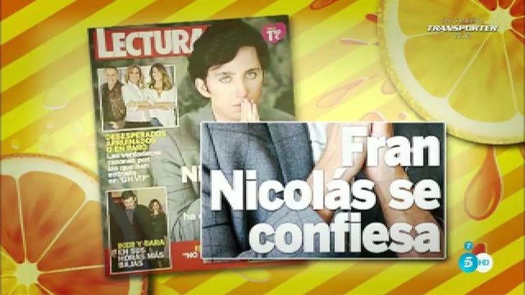 """Nicolás, en 'Lecturas': """"Al Rey Juan Carlos le encantan las películas de John Wayne"""""""