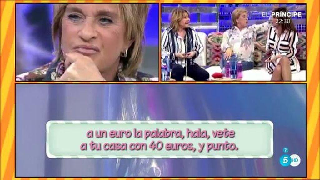 """Llaman """"pelota"""" a Chelo G. y """"surtidor de migas"""" a Belén Esteban"""