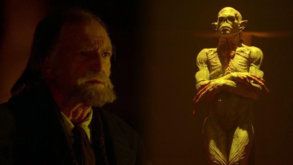 El profesor Abraham hace una alianza con los seis ancianos 'strigoi'