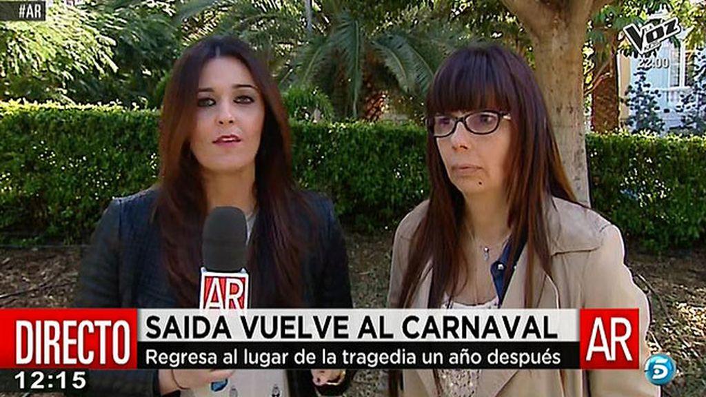 "Dulce, la madre de Saida Prieto: ""La sangre carnavalera no se la pudieron quitar"""