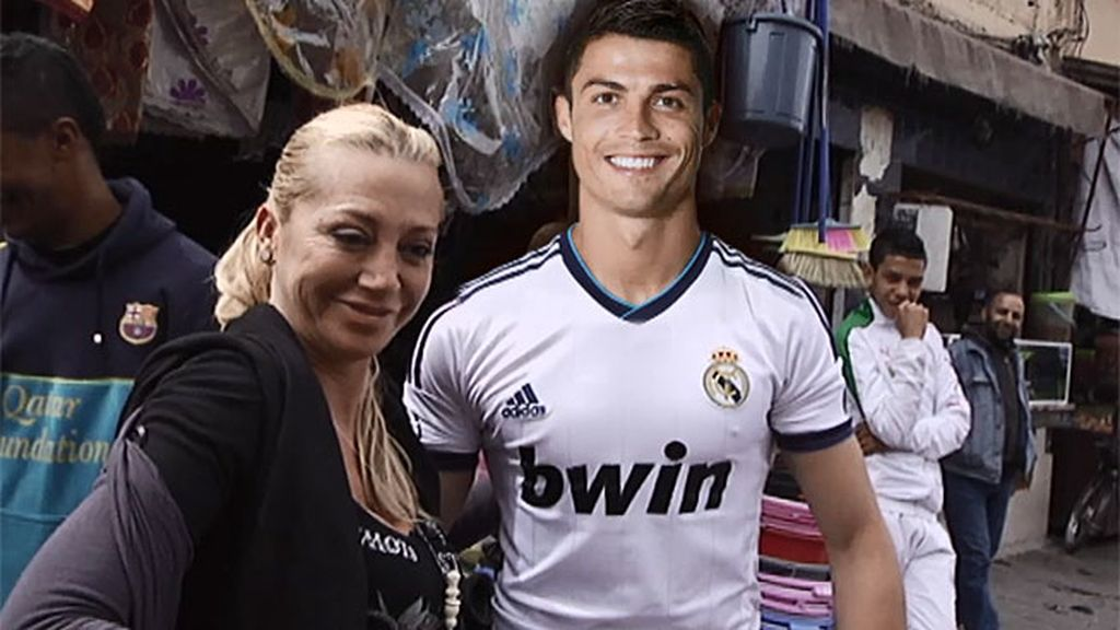 Belén se encuentra con su particular Cristiano Ronaldo en Marruecos