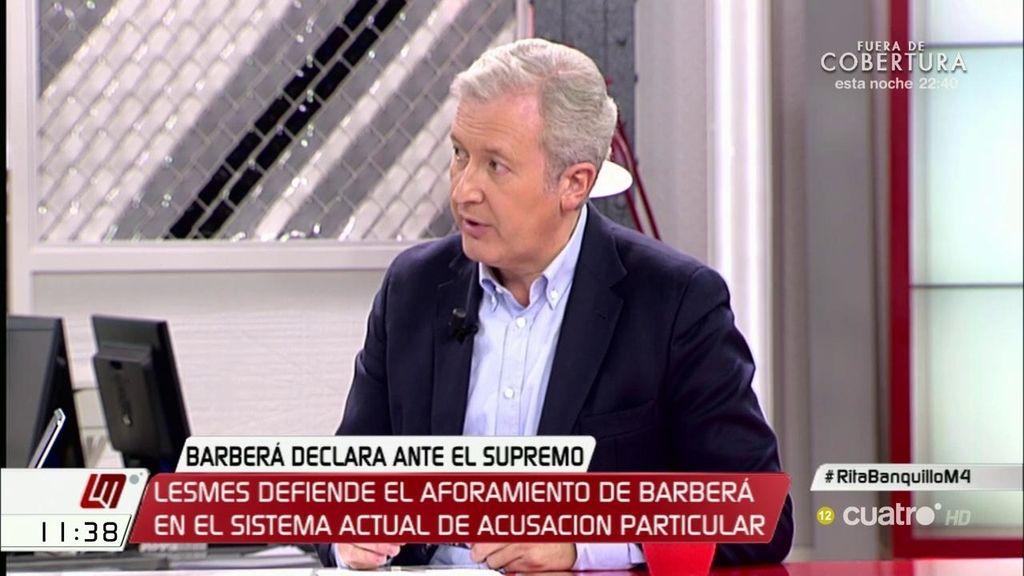 """Emilio del Río (PP): """"Con los corruptos se puede hacer demagogia, pero lo que hay que hacer es aprobar medidas"""""""