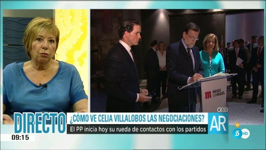 """Celia Villalobos: """"La campaña más dura ha sido contra Rajoy"""""""