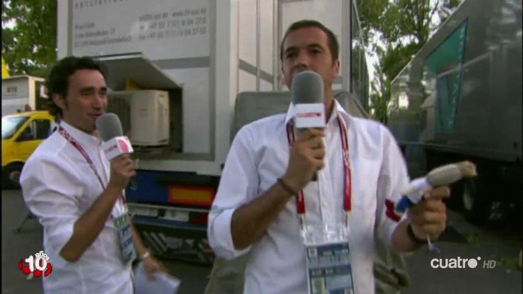 Así vivieron 'Los Manolos' el éxito de la Euro 2008: de los penaltis, a la fiesta del vestuario