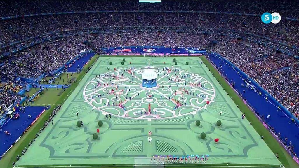 La ceremonia de apertura de la Eurocopa 2016 íntegra