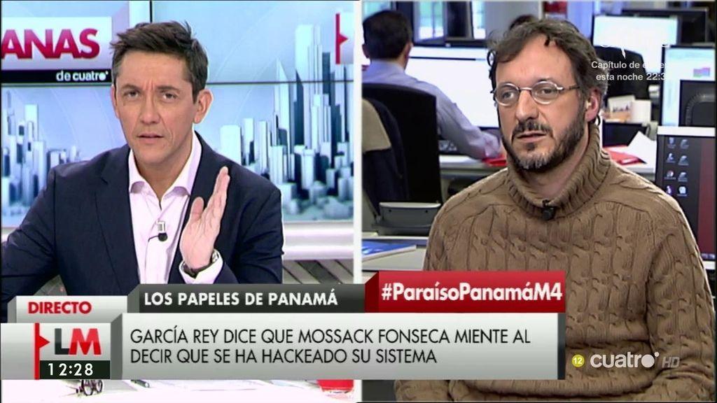 La entrevista a Marcos García sobre los 'Papeles de Panamá', a la carta