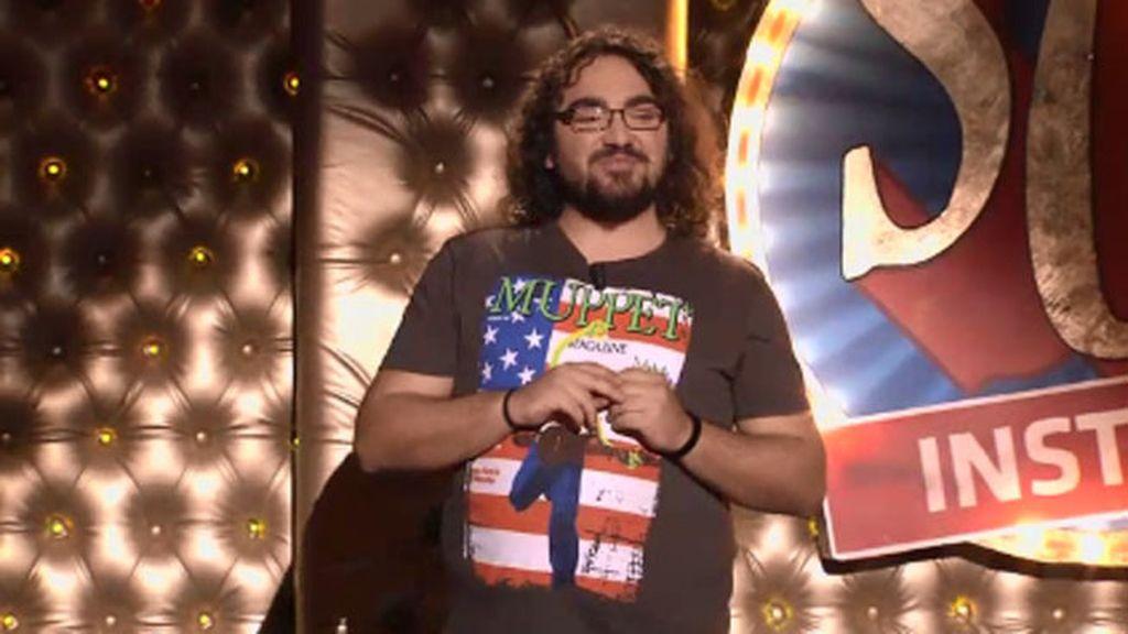 Sergio González, el creador del 'Ochuenti'
