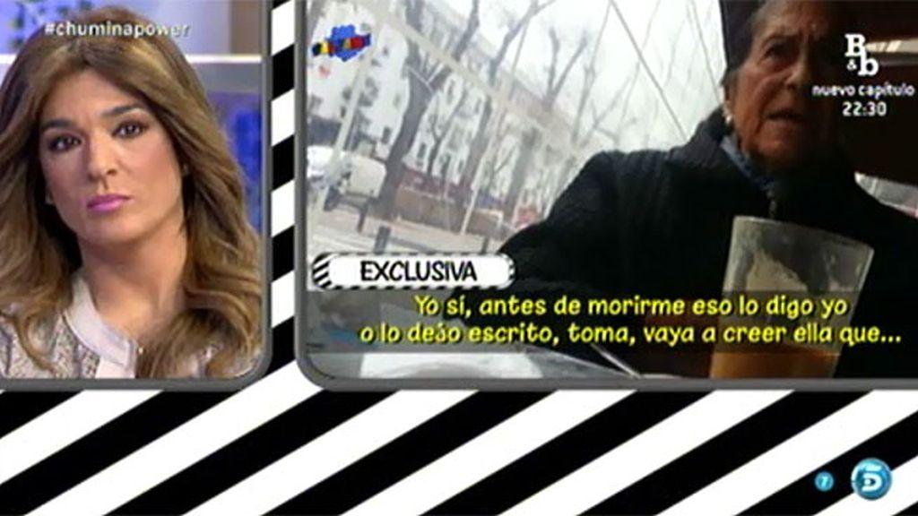 """'La Chumina', madre de Chiquetete: """"Si yo hablara, Raquel Bollo no estaba en el plató"""""""