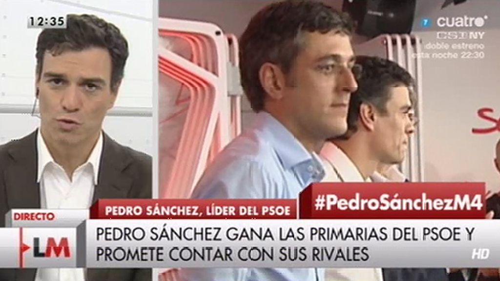 """Sánchez, sobre Madina y Tapias: """"Sería un lujo poder contar con ellos en el equipo"""""""