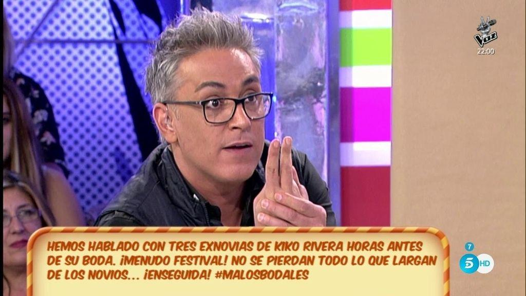 "Kiko Hernández, avisa a Kiko Rivera: ""Dos de la boda me han dicho que la van a reventar"""