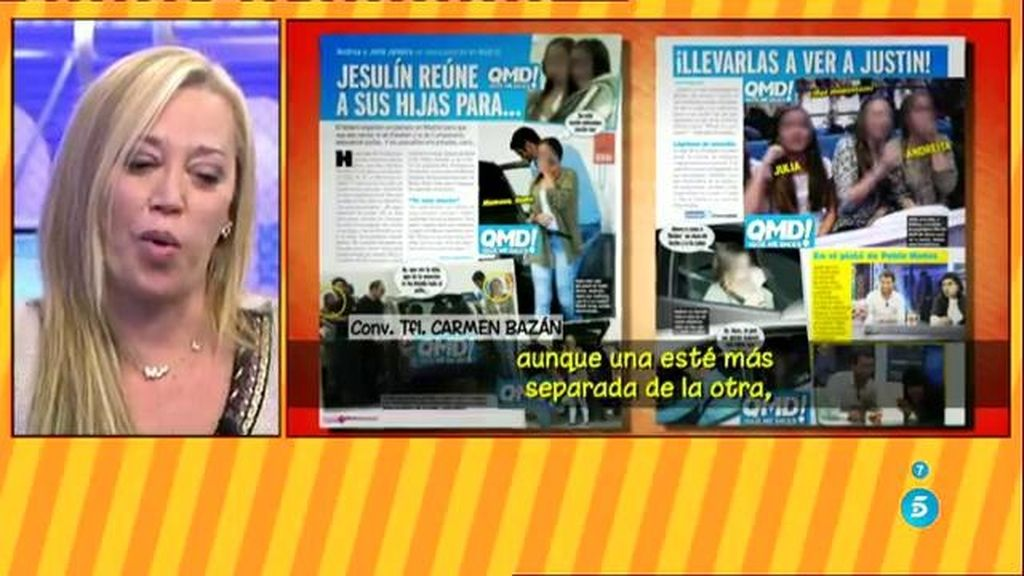 Jesulín de Ubrique une a sus dos hijas por una buena causa: Justin Bieber
