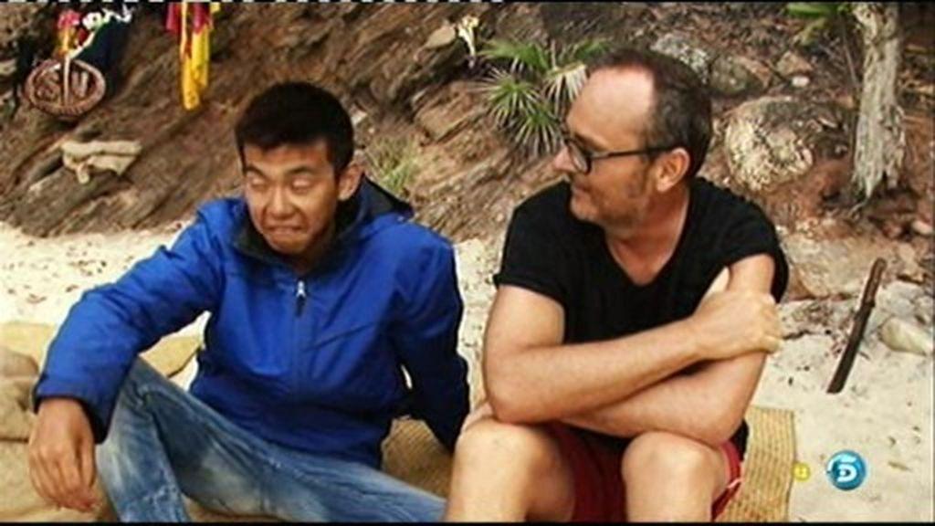 Las confesiones sexuales de Nacho y Carolina desconciertan a Yong Li