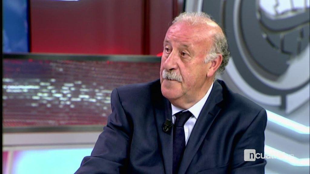 """Del Bosque, sobre la polémica con Casillas: """"Es como si un padre se enfada con su hijo"""""""