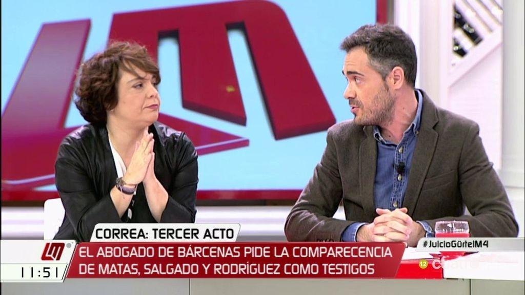 """F. Sicilia, a G. Elizo: """"Dices que es un drama que Rajoy sea presidente, lo pudisteis solucionar en marzo"""""""