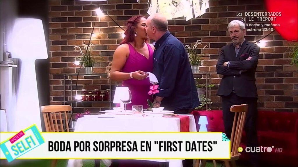 Un animador de público de '¡QTTF!' encuentra el amor en 'First dates'