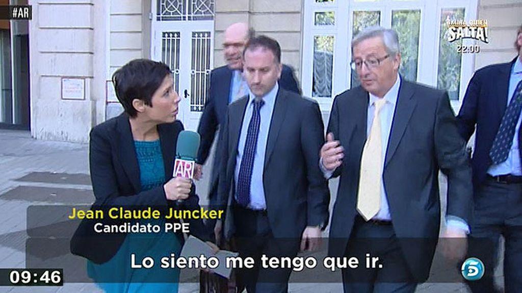 Jean Claude Juncker se va a Tuenti y no responde a Marta Nebot