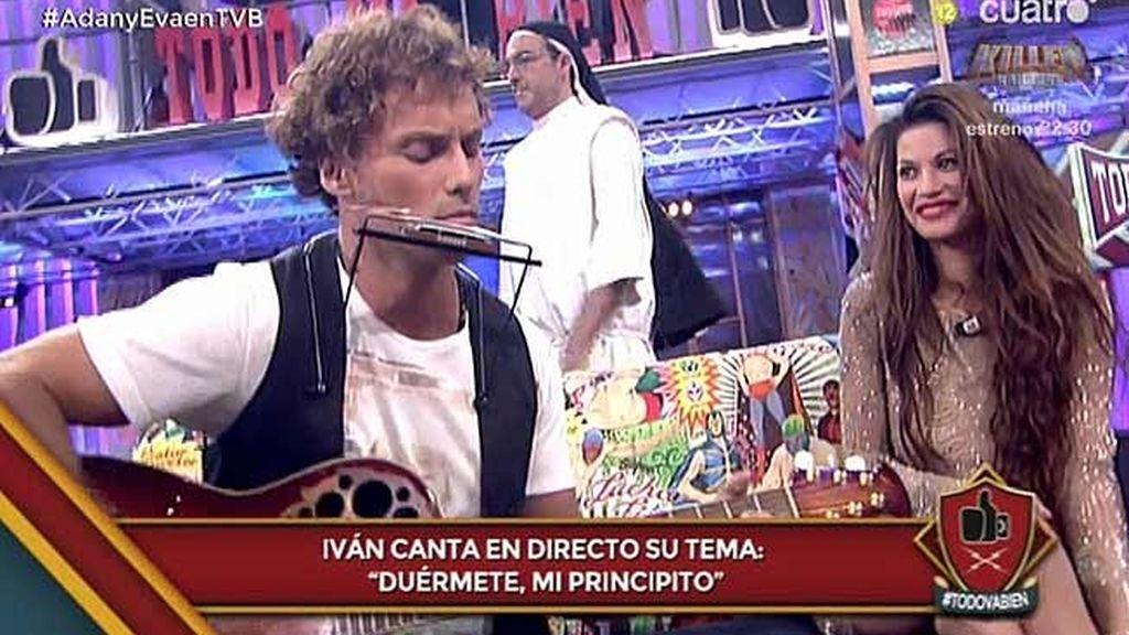 Iván, de Adán y Eva, canta en directo su single: 'Duérmete mi principito'