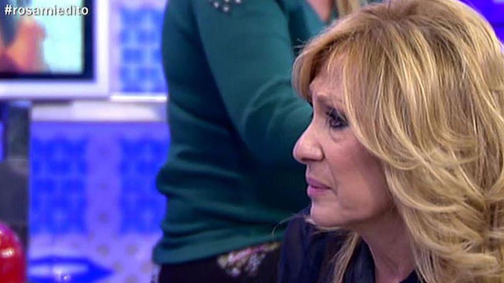 """Rosa Benito se derrumba y reconoce que tiene """"miedo"""" al futuro"""