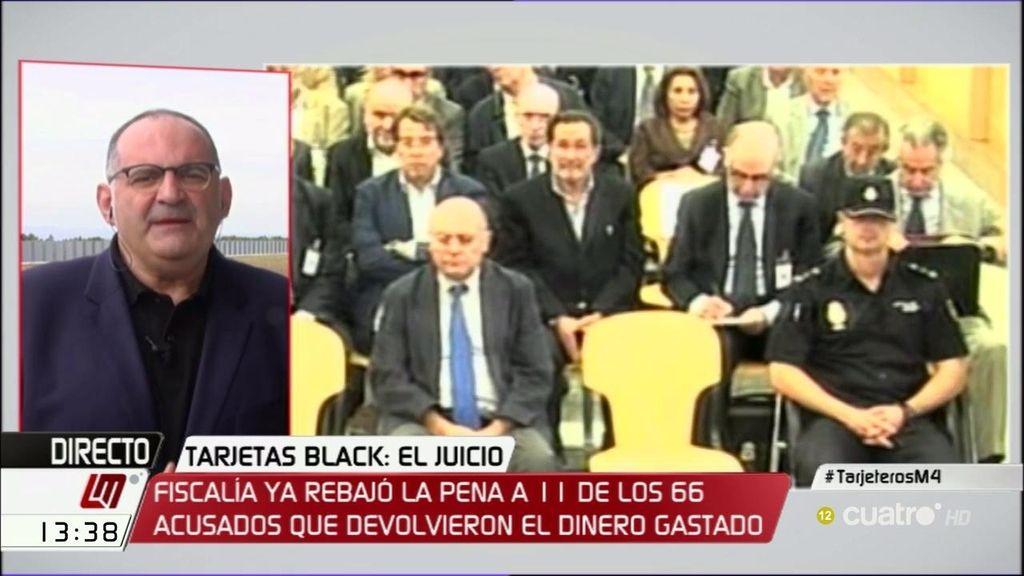 """Antón Losada: """"El juicio de las tarjetas black es el juicio a la época del bandolerismo 2.0"""""""
