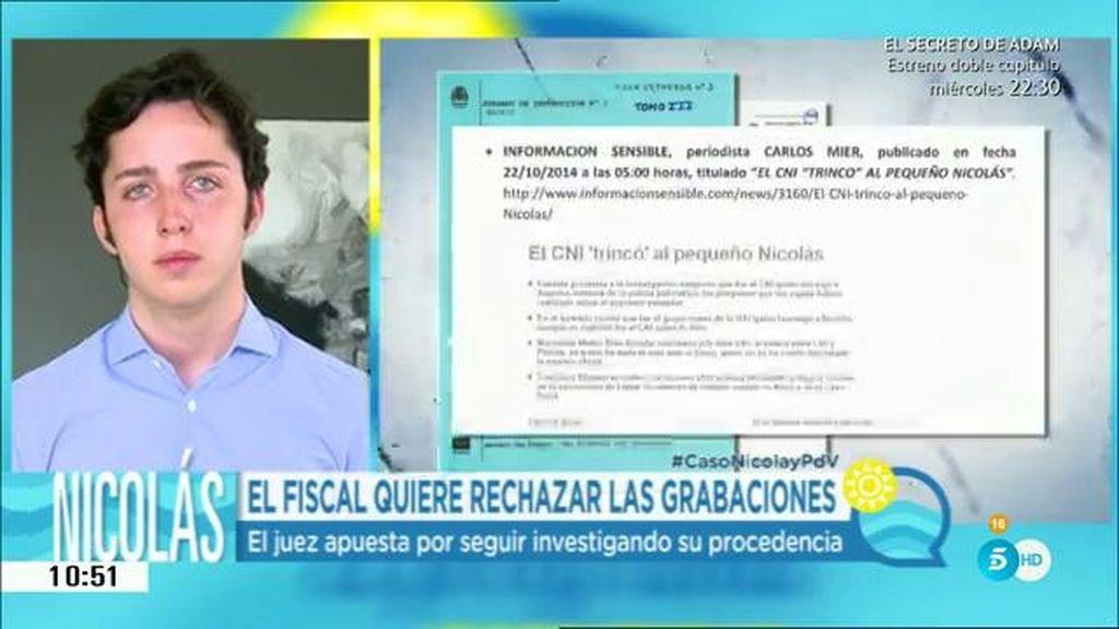 """Fran Nicolás: """"Está muy claro que mi teléfono fue intervenido sin orden judicial"""""""