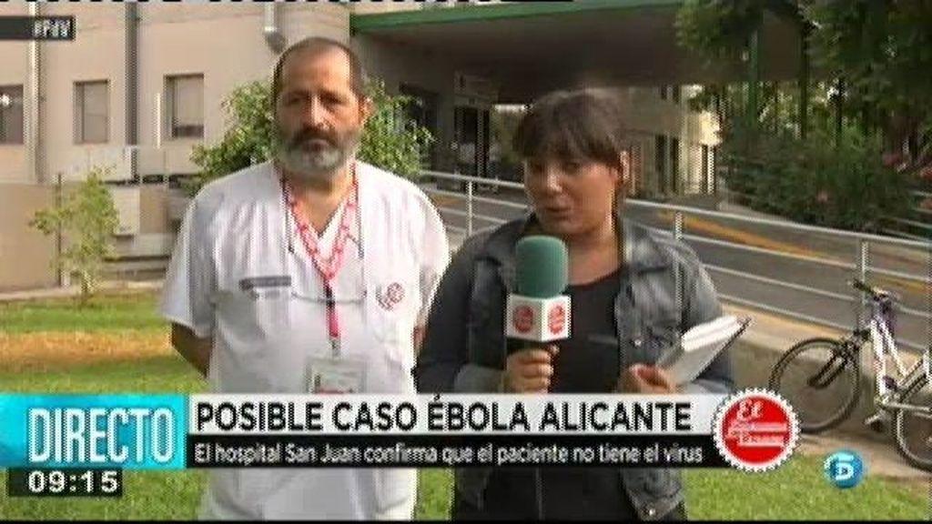 El Hospital San Juan confirma que el paciente ingresado no tiene ébola