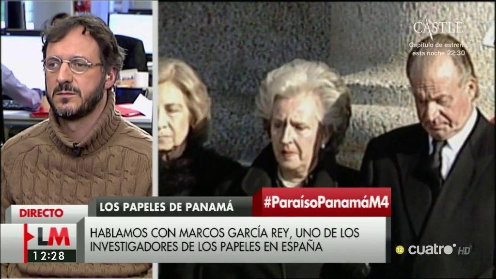 """Marcos García asegura que en los 'Papeles de Panamá' hay más nombres del ámbito del """"la economía, la política o la abogacía"""""""