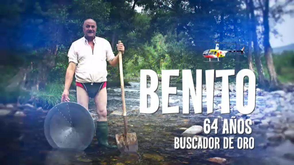 Buscamos ¡y encontramos! oro con Benito