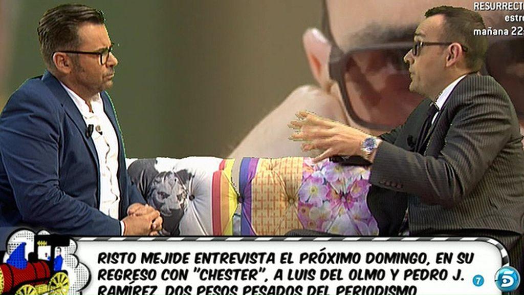 "Risto, a Jorge Javier: ""Tú tienes un Chester"""